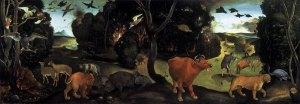 El incendio del bosque | Piero di Cosimo | 1505