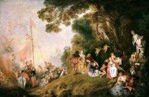 La peregrinación a Cythera | Jean-Antoine Watteau | 1721