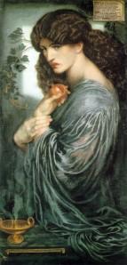 Proserpina | Dante Gabriel Rossetti | 1874
