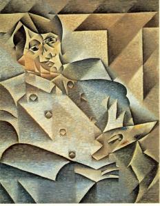 Retrato de Pablo Picasso | Juan Gris | 1912