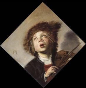 Un niño con un violin | Frans Hals | 1630