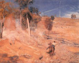 Escape! | Tom Roberts | 1891