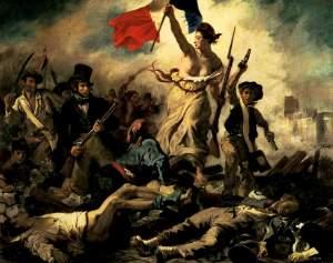 La Libertad guiando al pueblo | Eugène Delacroix | 1830