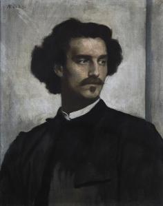 Autorretrato | Anselm Feuerbach | 1873