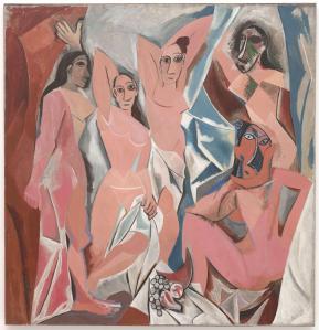 Las señoritas de Avignon | Pablo Picasso | 1907