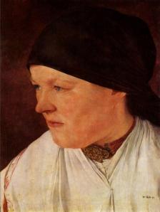 Cabeza de campesina | Wilhelm Leibl | 1879