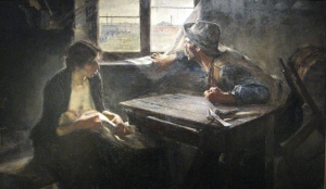 Sin pan y sin trabajo | Ernesto de la Cárcova | 1893
