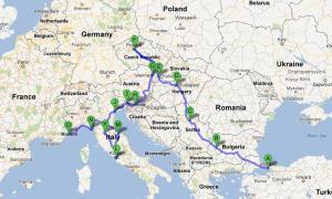 Tour de Alvaration por Europa del Este e Italia