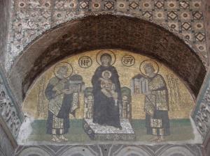 Mosaicos bizantinos | Iglesia de Santa Sofía | Istanbul