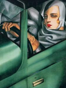 Autorretrato en el Bugatti verde | Tamara de Lempicka | 1925