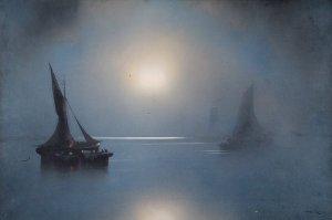 Luz de luna | Joachim Hierschel-Minerbi (Prof. Van Hier) | Fecha desconocida
