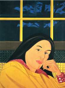 Interior occidental | Alex Katz | 1979