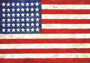 Bandera | Jasper Johns | 1954
