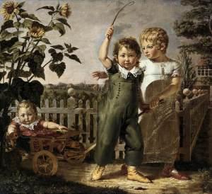 Los niños Hülsenbeck | Philipp Otto Runge | 1806