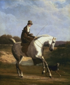 La Señora Cazenove en un cazador gris | Jacques-Laurent Agasse | Principios del siglo XIX