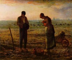 El Ángelus | Jean-François Millet | 1859