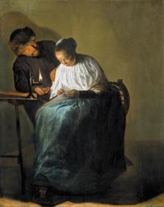 La proposición / La oferta rechazada | Judith Leyster | 1631