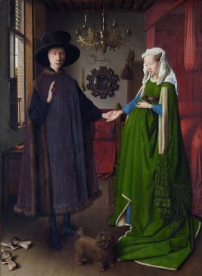 Retrato del matrimonio Arnolfini | Jan van Eyck | 1434