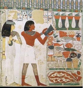 Fresco de la tumba de Nakht (detalle)